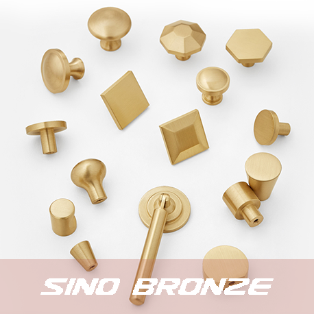 Original solid bronze drawer pulls