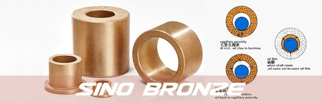 Original sintered bronze bearings banner